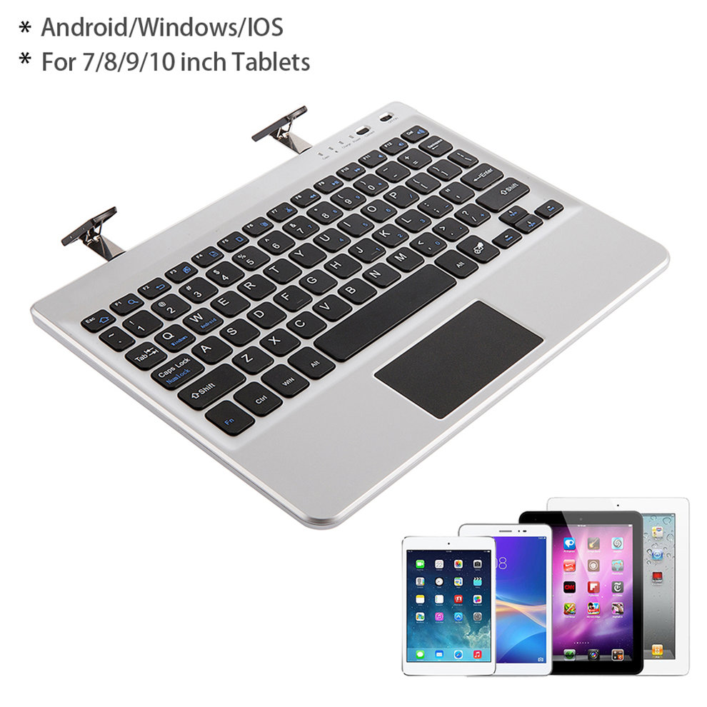 2pcs Multifunctional Portable Bluetooth Keyboard Fit For 7/8/9/10 Inch Tablets fit 36 28 7