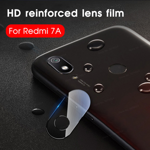 Obiektyw kamery telefonu Film dla Xiaomi Redmi 7A 6A 7 6 szkło ochronne osłona na kamerę dla Xiaomi Redmi7A Redmi6A Redmi7 w a7 A6