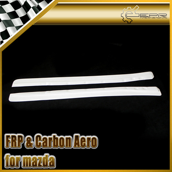 Car-styling For Mazda RX7 FD3S FRP Fiber Glass Feed Style Side Skirt Add On Fiberglass Door Accessories In Stock