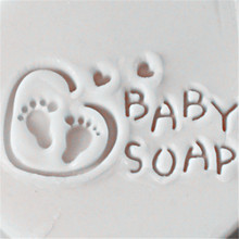 acrylic handmade soap seal customized baby pattern stamp