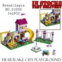ملعب lepin 01050 341 قطع الأصدقاء heartlake مدينة اللبنات الطوب تنوير اللعب للفتيات أعياد ميلاد هدية 41325