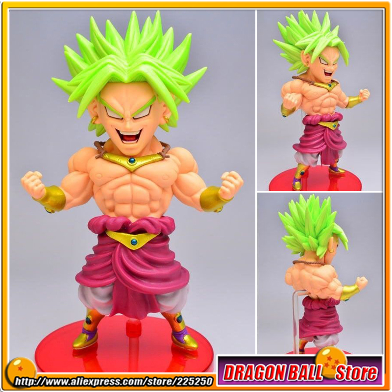 Animé japonais DRAGONBALL dragon ball Z/Kai Origine BANPRESTO WCF Série MEGA Jouets figurines d'action-Broly Super Saiyan