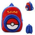 IVI Novelty Pokemon School Bags for Girls Boys Cartoon Kids Plush Backpacks Baby Mini Schoolbag Pikachu kindergarten Backpack