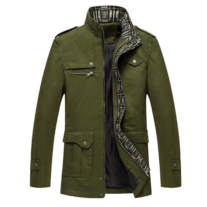 black Mélangée Laine Tranchée En Loldeal Montant Hommes Green Coton De vent Khaki Manteau Coupe Décontractée Pois D'affaires Veste army Col qqSBwfTn