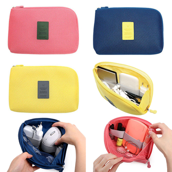 Digital Storage Bag USB Data Cable Organizer Earphone Wire Bag Pen Power Bank Travel Kit Case Pouch Electronics Accessories cable organizer system kit case usb data cable earphone wire pen power bank storage bags digital gadget devices travel