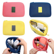 Сумка для хранения цифровых usb устройств сумка наушников с