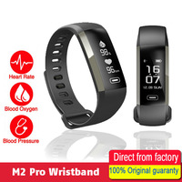 M2 Smart Wristband Healthy Fitness Tracker IP67 Waterproof Simple OLED Leisure Unisex Bracelet Gifts Sport Watch for Android IOS