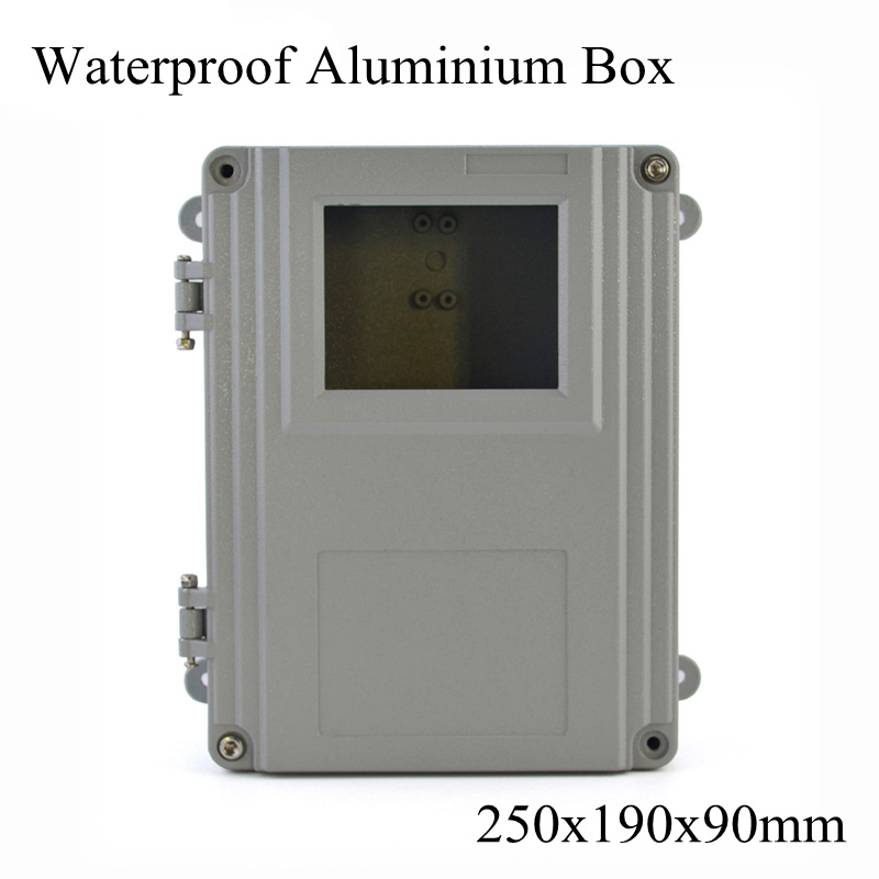 FA15-5 250x190x90mm Aluminum Waterporrf Enclosure Sealed Project Electrical Wire Junction Case Distribution Box 250*190*90mm saipwell most popular ip65 ht 5 ways waterproof electrical distribution box 150 110 90mm