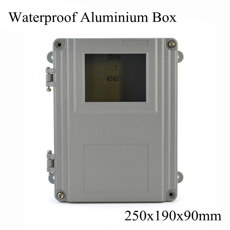 FA15-5 250x190x90mm en aluminium Waterporrf boîtier scellé projet électrique boîtier de jonction boîtier de Distribution 250*190*90mm