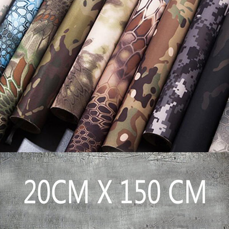 High Quaity 20cm x 150 cm Tactical Elastic self adhesive Camouflage Tape Multifunctional camouflage Tape camouflage striped tape side pants