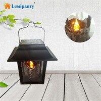 LumiParty Năng Lượng Mặt Trời LED Camping Tent Ánh Sáng Sạc Đêm Đèn Lồng Đèn cho Ngoài Trời Đi B