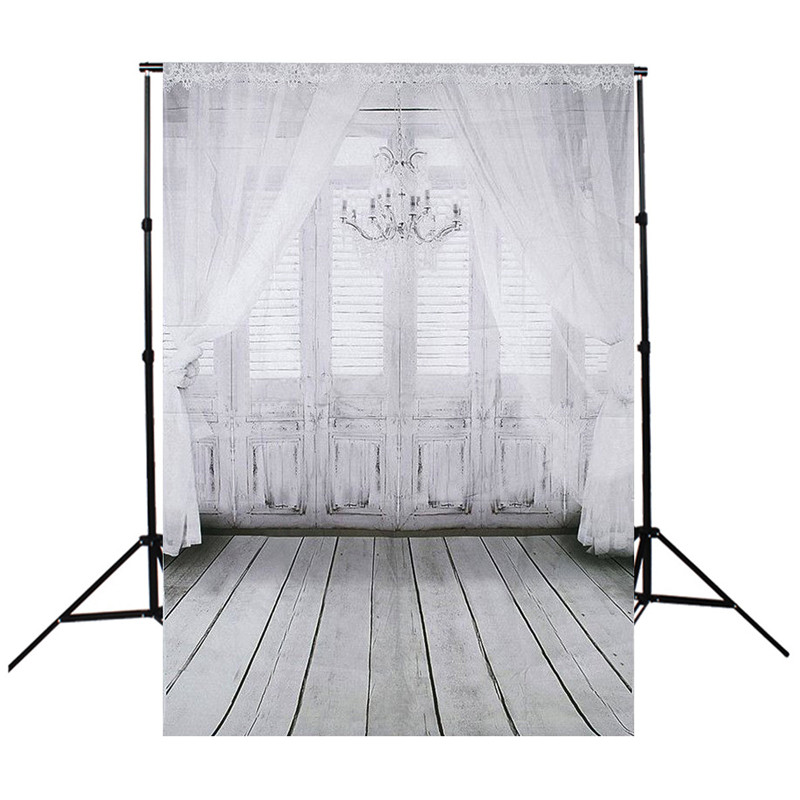 Grain Wall Floor Retro Window Photography Background For Studio Photo Props Photographic Backdrops cloth 90 x 150cm light(China)