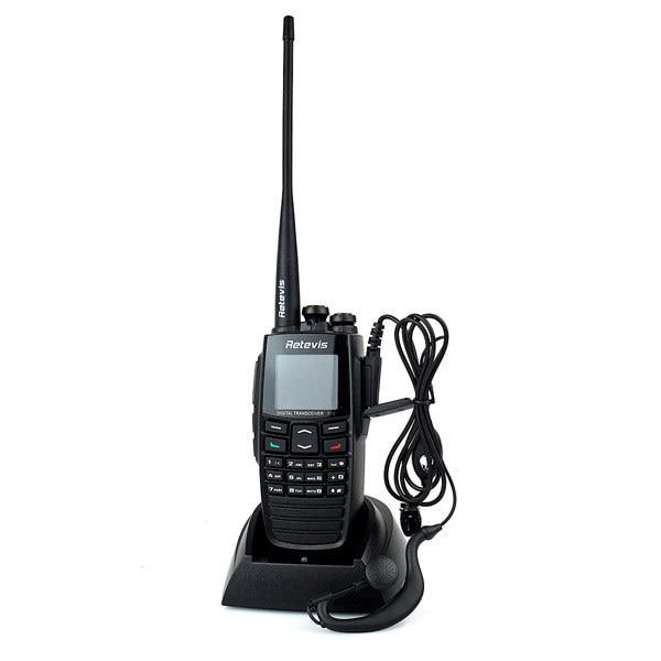 DPMR Digital Walkie Talkie Retevis RT2 VHF+UHF 136-174+400-470MHz 5W 256CH VOX Scan Digital Dual Band Radio Comunicador A9107A