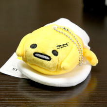 Cute Lovely Gudetama Plush Toys Yellow Lazy Egg Pendant Keychain Dolls 5″ 12cm 7Styles 10pcs/lot ANPT403