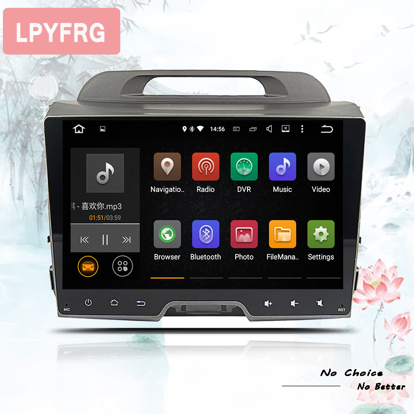 10 1 Inch Sportage r Android 9 0 Octa core Head unit Car DVD player for