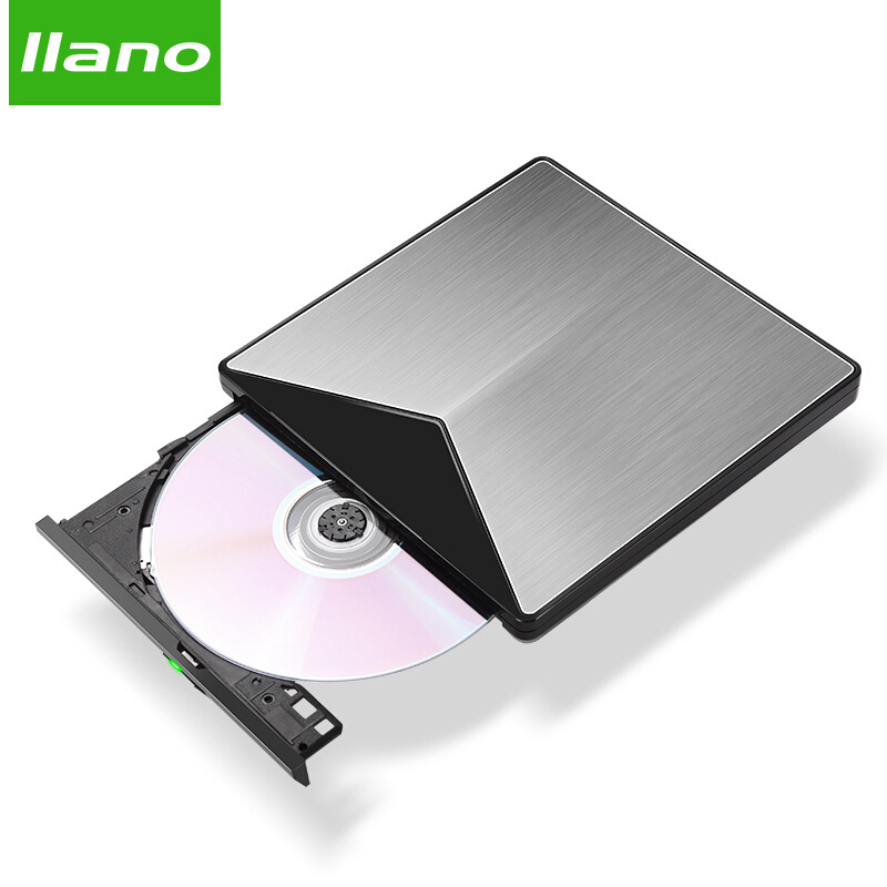 Llano USB Optical Drive External USB 3.0 CD/DVD ROM Combo DVD RW ROM Burner For Dell Lenovo Laptop For Mac OS USB DVD Drive