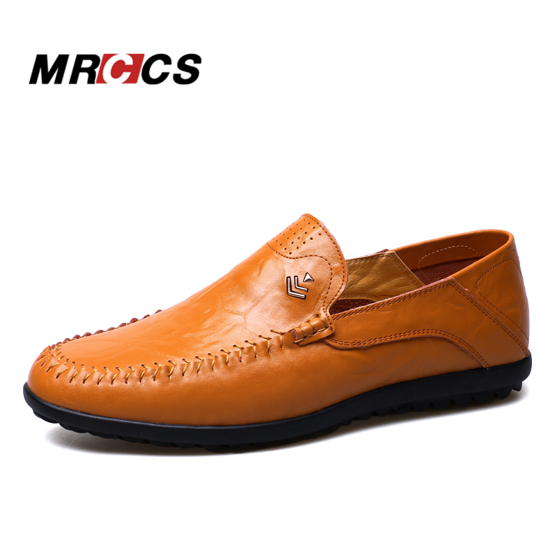 Handmade Men Brown Summer Shoes