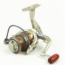 13 axis metal head fishing vessel fishing line round metal handles fishing gear fishing rod accessories tools