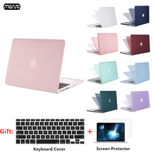 MOSISO Hard Shell Laptop Case For MacBook Air Pro Retina11 12 13 15 Cover for 2018 New inch with Touch Bar+Gift