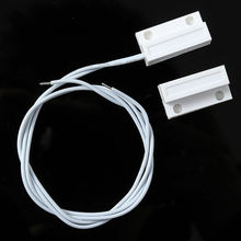 5 çift/grup MC 38 kablolu kapı pencere sensörü manyetik anahtarı ev Alarm sistemi dedektörü