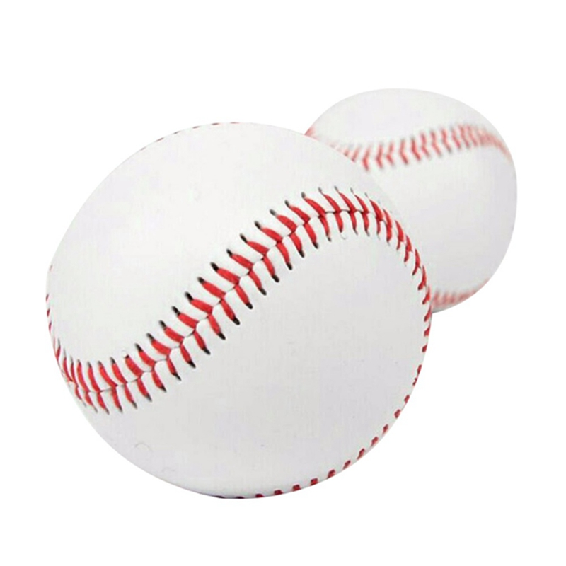 10 Inches Universal Handmade Baseballs PU Hard&Soft Baseball Balls Softball Ball Training Exercise Baseball Balls