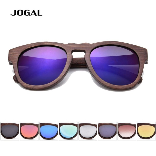 Men Women Brown Frame Glass Bamboo Polarized Sunglasses Retro Vintage Wood Lens Wooden Frame Handmade Free Shipping S042