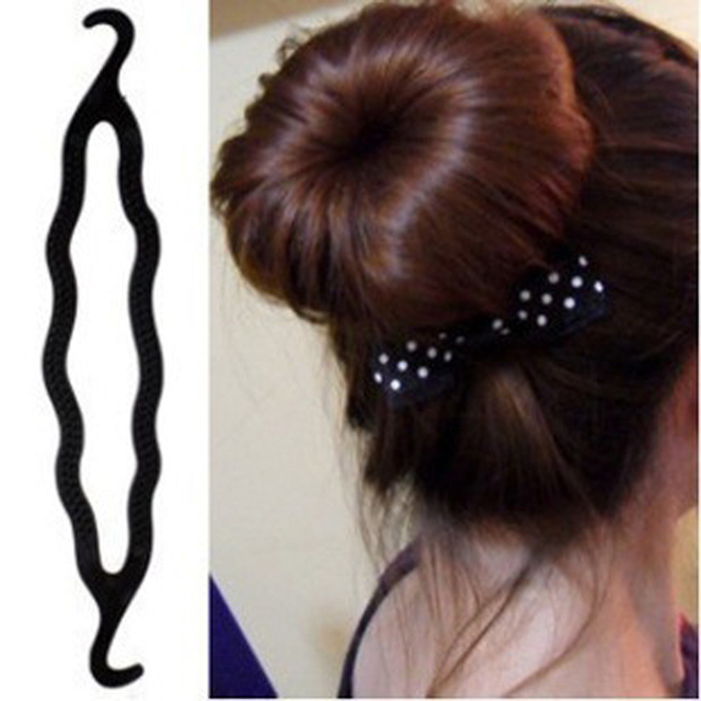 1PCS Magic Braider Hair Twist Styling Tools Clip Stick Donut Hair ...