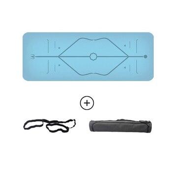 5 mm Thickness 183cm length exercise mat assist Lianxiyuqiedian natural rubber yoga mat dance gymnastics mat
