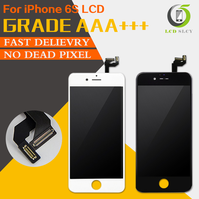 5Pcs/lot AAA Quality 3D Touch LCD Screen Display For iPhone 6S LCD 4.7 inch with Touch Screen Digitizer Assembly free shipping5Pcs/lot AAA Quality 3D Touch LCD Screen Display For iPhone 6S LCD 4.7 inch with Touch Screen Digitizer Assembly free shipping