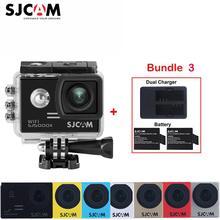 100% Original SJCAM SJ5000X Elite WiFi 4K 2.0″ Screen 30M Waterproof Sports Action Camera Car Mini DVR+2 Battery+A Dual Charger