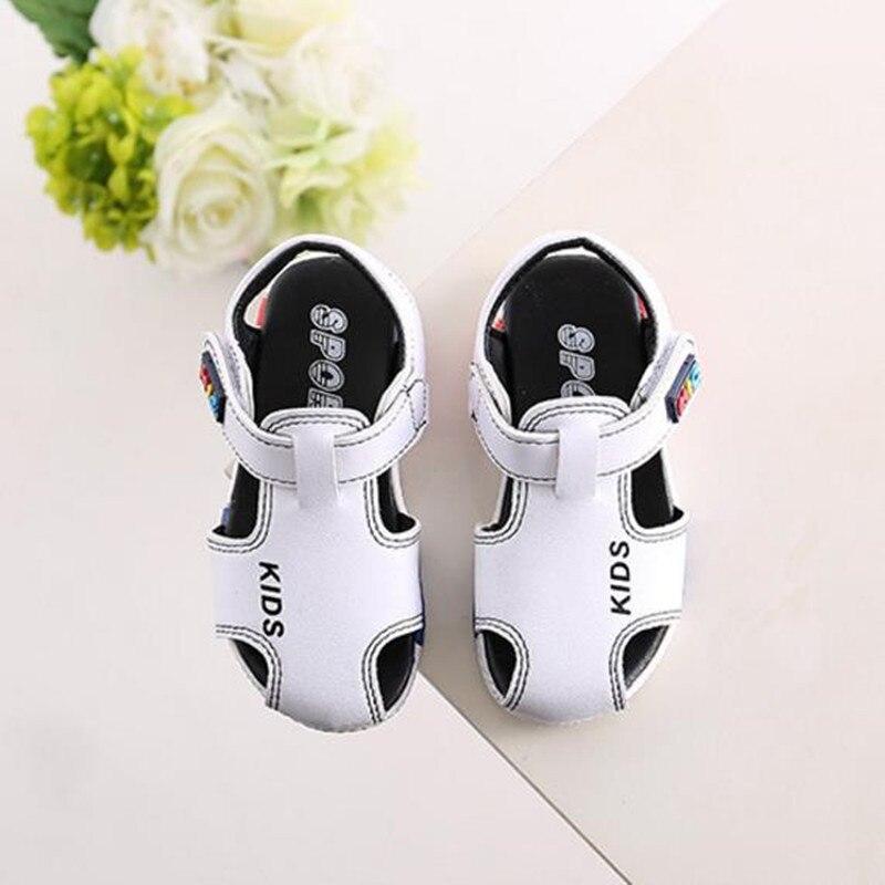 HaoChengJiaDe Boys Kids Girls Sandals Fashion Summer Toddler Shoes Sandals Children Shoes Baby Girls Sandals Indoor Slippers