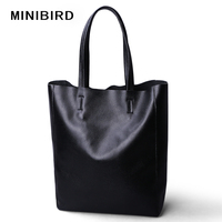 Hotsales Women Casual Totes Female Luxury Simple Fashion Handbags Lady Genuine Cowhide Leather Daily Use Shoulder