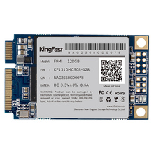 Kingfast Msata mini PC internal SATA II/III MLC 128GB with cache 128Mb Solid State hard disk Drive for PC Tablet/loptop/desktop