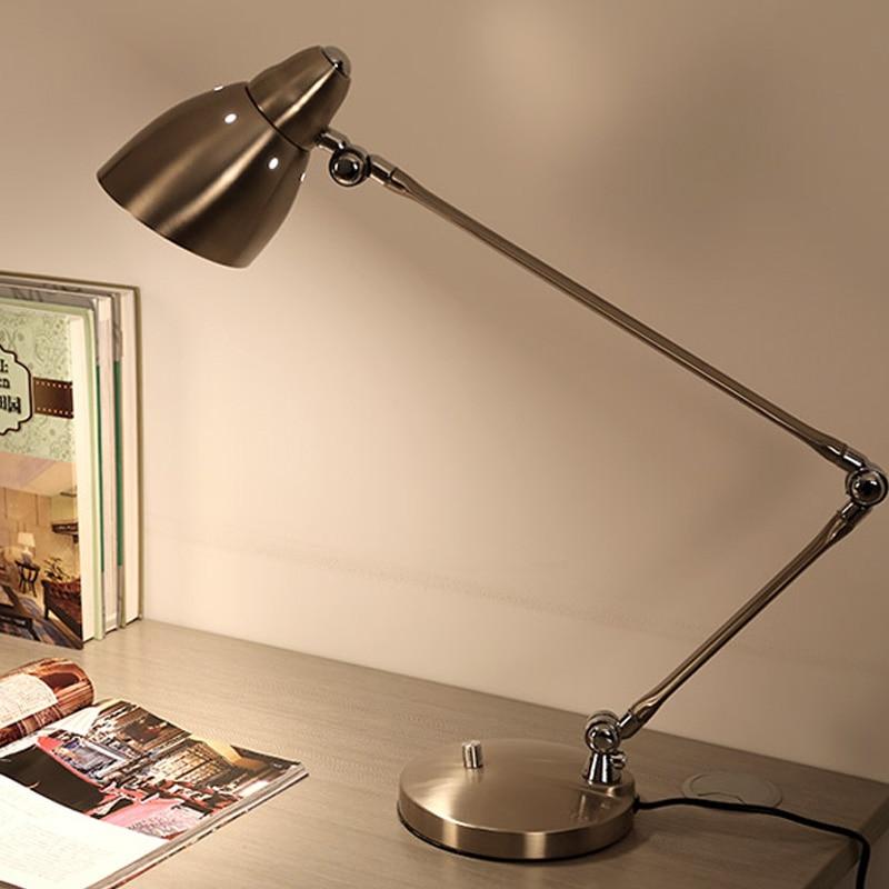 Aliexpress Com Buy Creative Long Arm Folding Desk Lamp