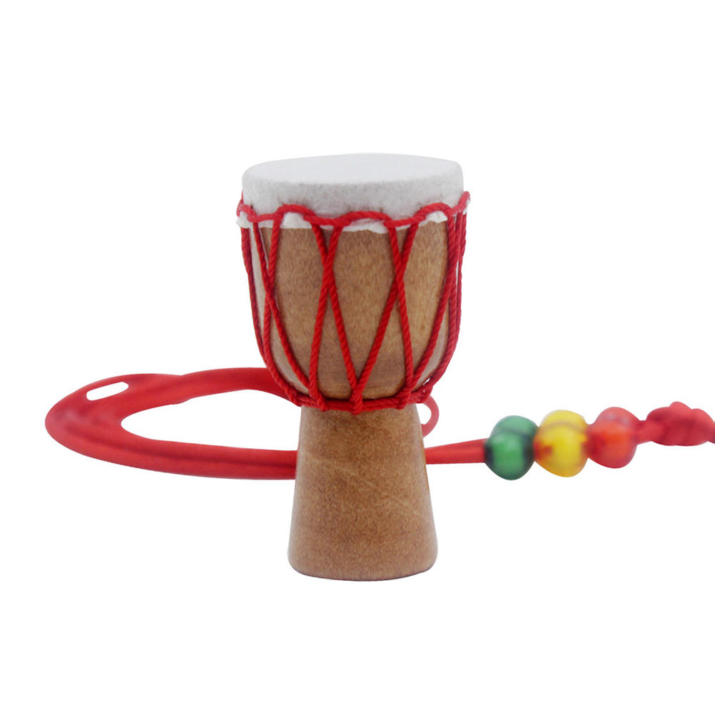 Wooden Classic Drummer Mini Djembe Percussion African Hand