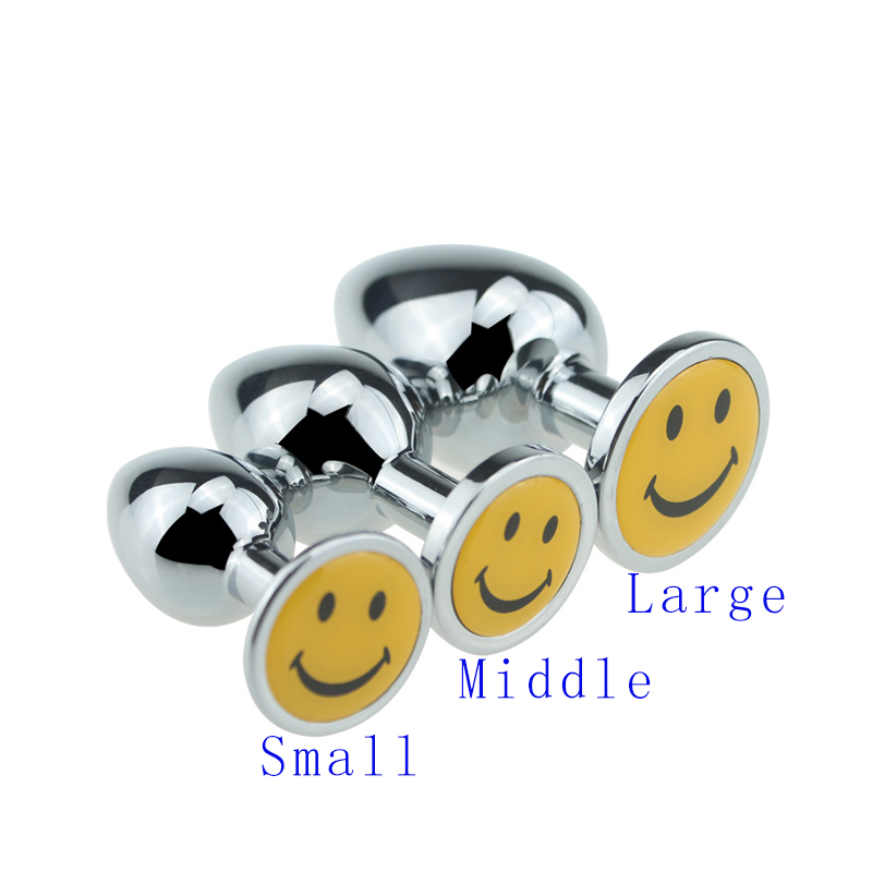 Maxde Silver Metal Yellow Smile Face Multipurpose Plug Self Defense Stinger for Men and Women Emergency Escaping Large Size автозагар lancaster self tanning melting delight for face