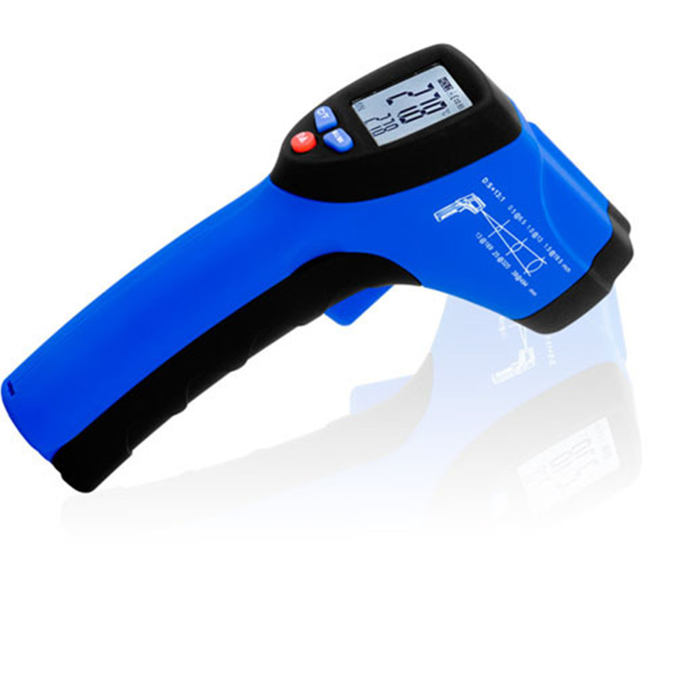 HT-835 Temperature Compact Gun IR Basic Infrared Thermometer (-50-850 Celsius) In Food Preparation Plastic Molding Asphalt цена