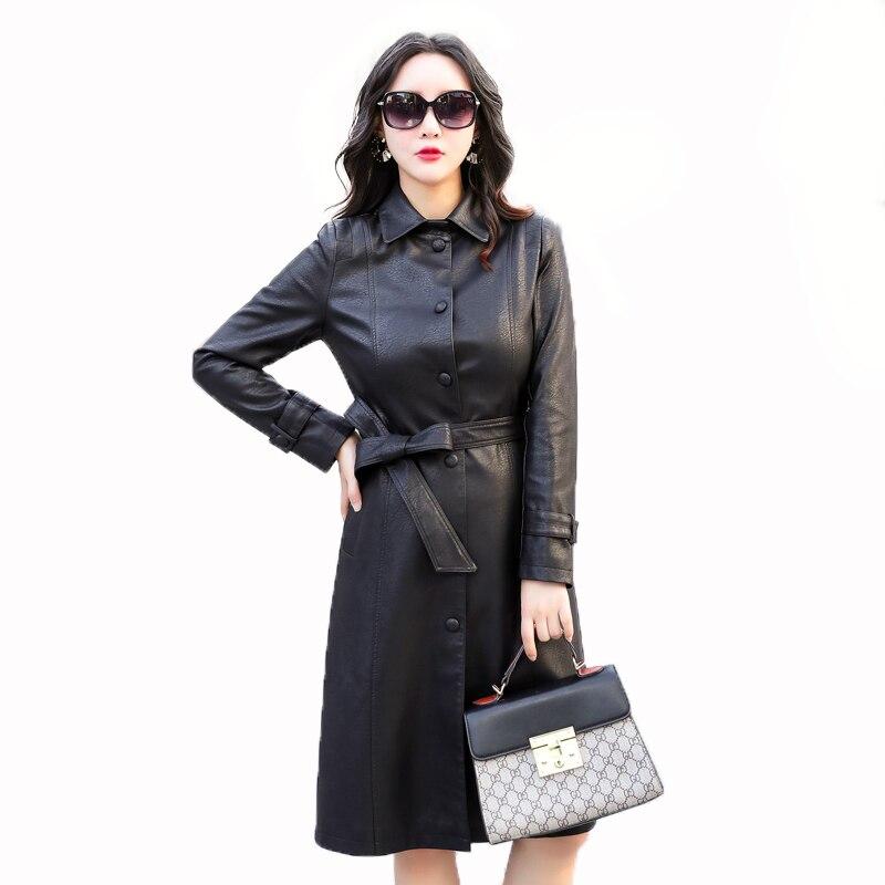 Photos Sur Véritable Vente Long Femmes Mat Noir Designer 2018 Femme Black green Brun Doux Style Livraison Gratuite Cuir Vert brown Lady Réel En Nouveau wRHqUXxO