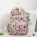 2016 New Student backpacks Canvas Book bag Women Backpacks School Bags Femininas Rucksacks Women Bag for Teenagers Girls  H128