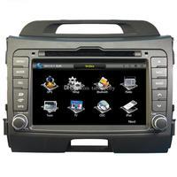 7 Car DVD player with GPS(option),USB/SD,AUX,BT/TV,audio Radio stereo,car multimedia headunit for KIA sportage R 2010 2011 2012