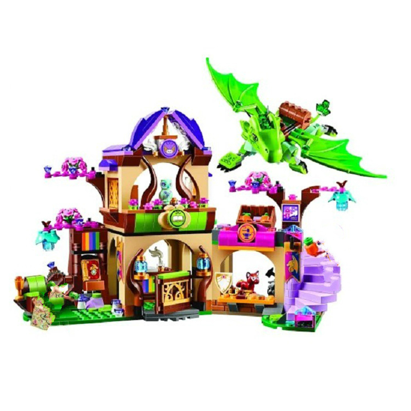 10504 694 Pcs The Secret Market Place Building Kit Dragon Figures Building Block Compatible with Blocks Girl Toys gift chris wormell george and the dragon