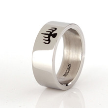 007 James Bond Spectre Ring High Polish Stainless Steel Ring Size 7 8 9 10 11 12 Nice Gift For 007 Fans