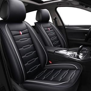 Image 2 - Housses de sièges dauto en cuir PU