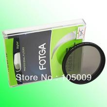 FOTGA 46 49 52 55 58 62 67 72 77 82 86 мм Тонкий Фейдер Фильтр Регулируемая переменная нейтральной Плотность ND2 к ND400 DSLR камеры