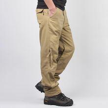 Новая мода Для мужчин тактические брюки карго с боковой карман