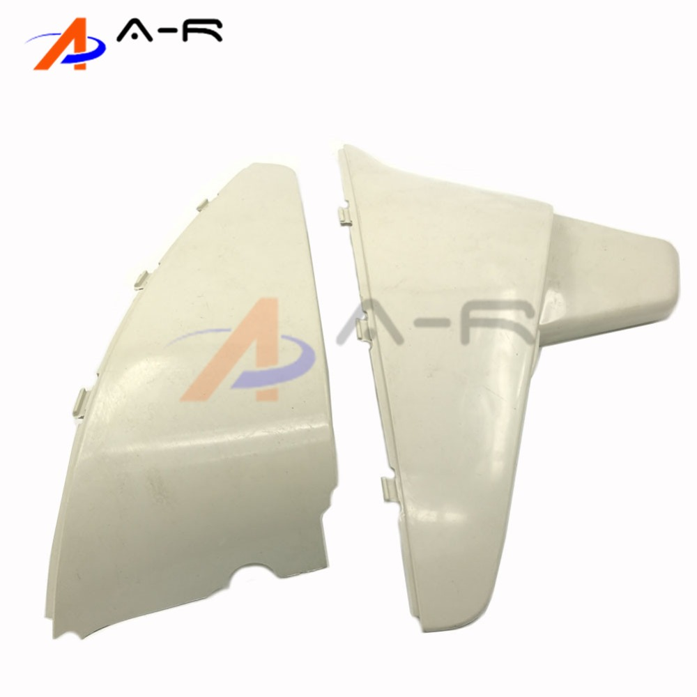 Motorcycle  ABS Plastic Battery cover Left Side Cover for Honda Shadow VT600 VLX600 1988-1999 Steed VLX VT 400 1988-2007 for 88 98 honda shadow vt600 vlx 600 steed 400 motorcycle abs plastic frame neck cover cowl wire covers side frame guard black