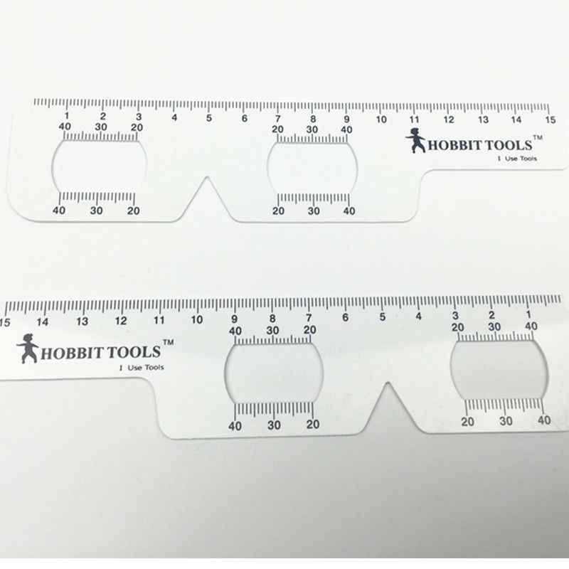 Wholesale Retail 4 Pieces Lot New Optical Pd Ruler Pupil Distance Ruler For Meter Ophthalmology Ruler Meter Ruler Ruler Meterruler Lot Aliexpress