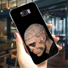 цена на Rick Genest Hard Case for Samsung Galaxy M30 Ultra Thin Phone Cover for Samsung Galaxy S6 S7 Edge S8 S9 Plus S10 Back Cases