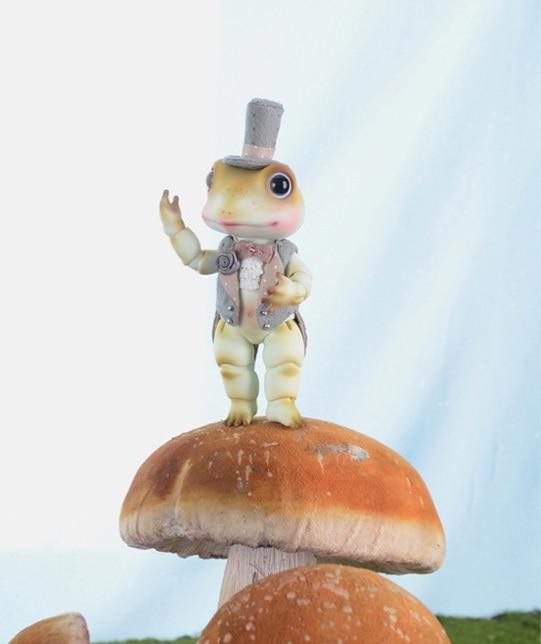 ФОТО OUENEIFS bjd sd doll Soom Toad 1/8 pet resin doll figures model reborn baby dolls eyes High Quality toys shop  gift box