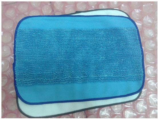 10 pcs/Lot Microfiber Mopping Cloths ( 5 Blue wet + 5 white dry ) pad for iRobot Braava 380 380t 320 Mint 4200 4205 5200 5200C new 3pcs deep clean blue microfiber replacement washable wet mopping pads for braava jet 240 cleaner